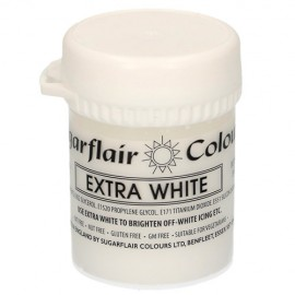 colorante blanco extra, sugarflair