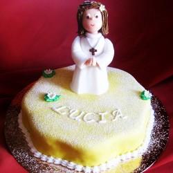 Tarta Comunion Lucia