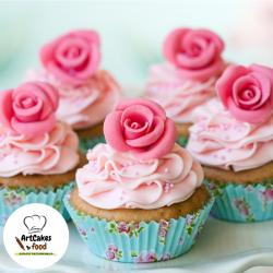 Cupcakes con rosas ArtCakes