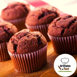 Maxi Muffin de chocolate con trocitos