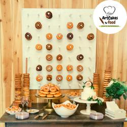Tablero de Donuts x 24