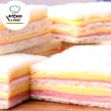 Sandwiches de miga Jamón y Queso