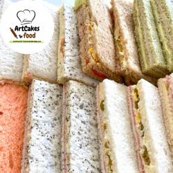 Sandwiches de miga Surtidos x 12 u.